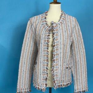 Tory Burch Hollis Cardigan Blazer Suit Jacket NWT